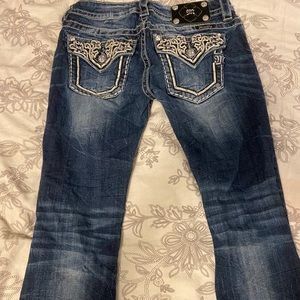 Miss Me Signature Rise Boot Jeans • Size 27